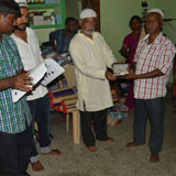 Distribution of Hearing Aid machine to needy patient