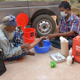 Mobile Leprosy ulcer care